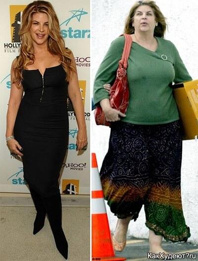 История похудения Керсти Элли