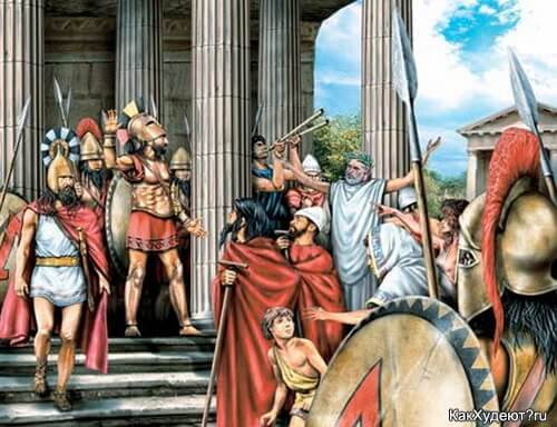 Диета в спартанском стиле