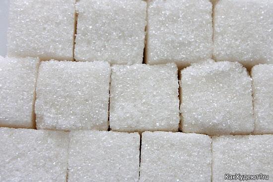 Сахар портит кожу