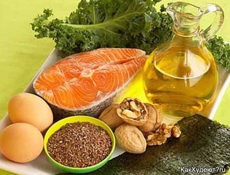 Источники здоровых жиров
