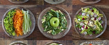 Здоровое натуральное питание в моде