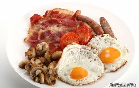 Завтракать надо обязательно