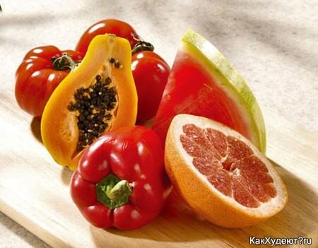 Богатые ликопином плоды на каждый день