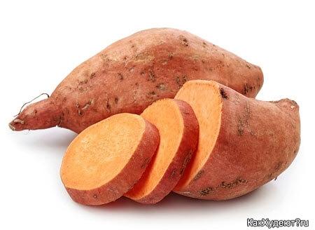 Батат вместо морковки