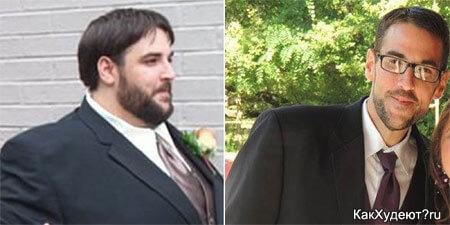 До и после похудения США