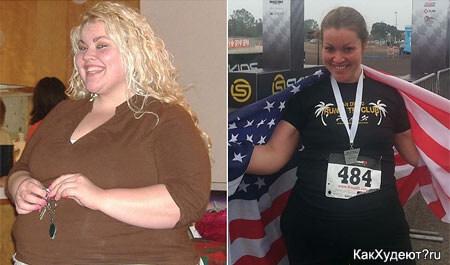 Ив Паркер до и после похудения