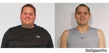 Коди Берджесс история похудения