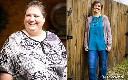 Тина Хенсон история похудения на 75 кг