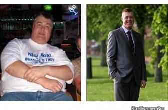 Как похудеть на 100 килограммов: опыт Дэвида Хадсона