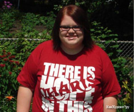 Фото Кристины до похудения