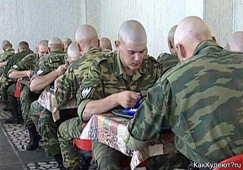 перловая каша в армии