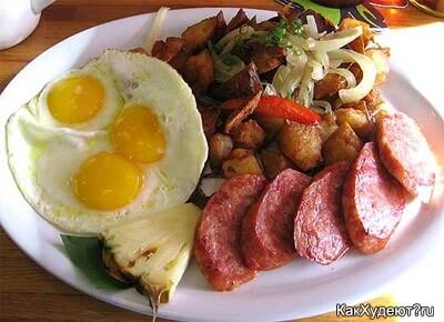 Диета плотного завтрака