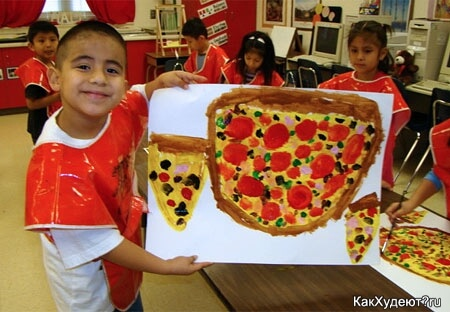 Хотите пиццу? Нарисуйте!