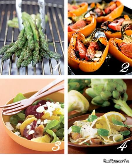 Здоровые диетические блюда