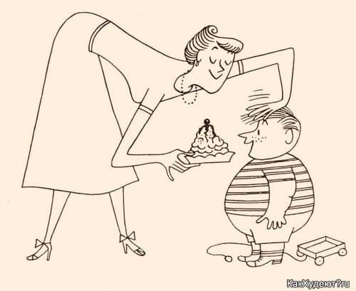 Избыточный вес у ребёнка